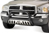 "Westin® - 3"" Ultimate Black Powdercoat Bull Bar on Dodge Dakota"