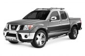 "Image may not reflect your exact vehicle! Westin® - 3"" Ultimate Chrome Bull Baron Nissan Frontier"