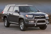 "Westin® - 3"" Ultimate Chrome Bull Bar with Skid Plate Removed on Toyota 4Runner"