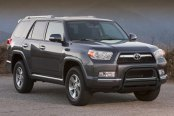"Westin® - 3"" Ultimate Black Powdercoat Bull Bar with Skid Plate Removed on Toyota 4Runner"