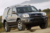 "Westin® - 2.5"" Ultimate Black Powdercoat Bull Bar with Skid Plate Removed on Toyota 4Runner"