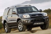 "Westin® - 2.5"" Ultimate Black Powdercoat Bull Bar on Toyota 4Runner"