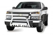 Image may not reflect your exact vehicle! Westin® - 3'' Ultimate Chrome Bull Bar on Chevy Colorado