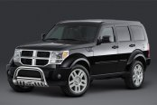 "Westin® - 2.5"" Ultimate Chrome Bull Bar on Dodge Nitro"