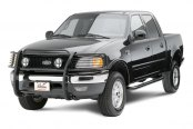 Westin® - Sportsman Black Powdercoated Grille Guard on Ford F-150