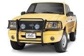 Image may not reflect your exact vehicle! Westin® - Sportsman Black Powdercoat Grille Guard on Ford Ranger