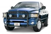 Westin® - Sportsman Black Powdercoated Grille Guard on Dodge Ram