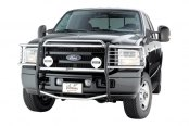 Image may not reflect your exact vehicle! Westin® - Sportsman Stainless Steel Grille Guard on Ford F-250