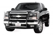 Westin® - Sportsman Stainless Steel Grille Guard on Chevy Silverado