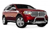 "Image may not reflect your exact vehicle! Westin® - 3"" E-Series Polished Stainless Steel Bull Bar"