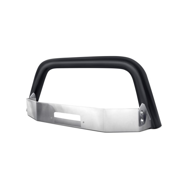Westin® - MAX Black Bull Bar with Winch Tray and Faceplate