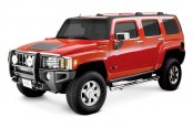 Image may not reflect your exact vehicle! Westin® - Sportsman Black Powdercoat Grille Guard