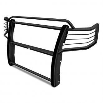 Image may not reflect your exact vehicle! Westin® - Sportsman Black Powdercoated Grille Guard