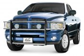 Image may not reflect your exact vehicle! Westin® - Sportsman Polished Stainless Steel Grille Guard