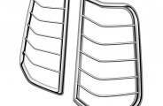 Westin® - Sportsman Chrome Tail Light Guards