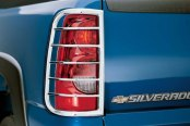 Image may not reflect your exact vehicle! Westin® - Sportsman Chrome Tail Light Guards