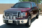 Westin® - Off-Road Stainless Steel Light Bar - Installed