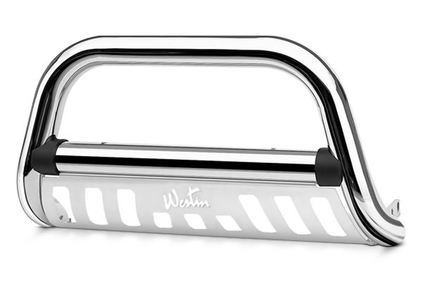 WESTIN� - Ultimate Chrome Bull Bar with Skid Plate