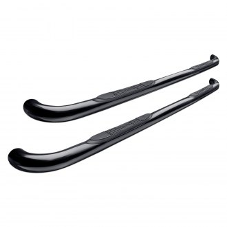 "Westin® - 3"" E-Series Wheel-to-Wheel Black Round Step Bars"