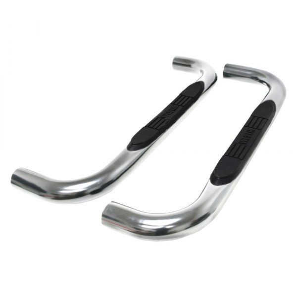 "Westin® - 3"" E-Series Polished Round Step Bars"
