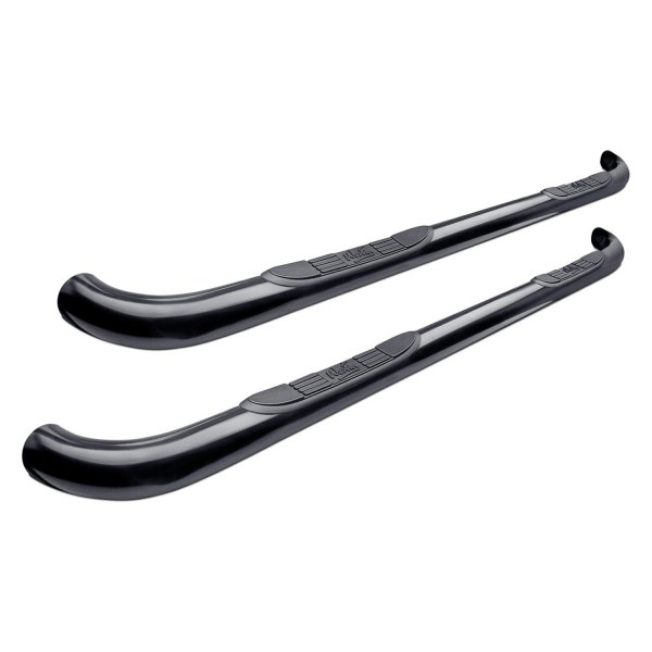"Image may not reflect your exact vehicle!Westin® - 3"" Signature Series Black Round Step Bars"