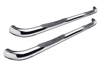 "Image may not reflect your exact vehicle! Westin® - 3"" Signature Series Chrome Round Step Bars"