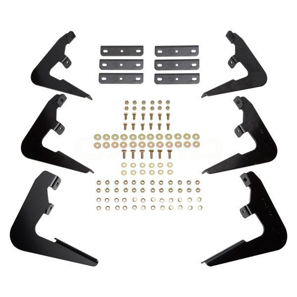 Image may not reflect your exact vehicle! Westin® - Oval Step Bars Mounting Brackets