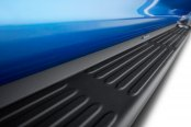 Image may not reflect your exact vehicle! Westin® - Molded Polymer Black Lighted Running Boards Installed