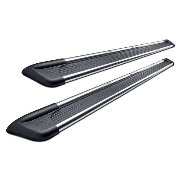 "Image may not reflect your exact vehicle!Westin® - 6"" Sure-Grip Black with Brite Trim Running Boards"
