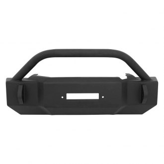 Westin® - Snyper™ Scope Black Front Bumper with Bull Bar