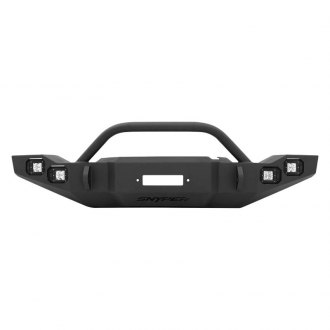 Westin® - Snyper™ Marksman Black Front Bumper with Bull Bar