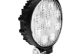 "Westin® 09-12006B - 4.9""x5.4"" Utility Lights Series Round 9 LEDs Flood Driving Lights"