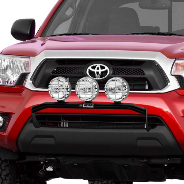 Image may not reflect your exact vehicle! Westin® - Black Powdercoat Off-Road Light Bar on Toyota 4Runner