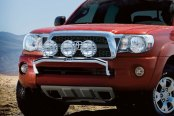 Image may not reflect your exact vehicle! Westin® - Stainless Steel Off-Road Light Bar on Toyota Tacoma
