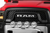 Image may not reflect your exact vehicle! Westin® - Stainless Steel Off-Road Light Bar on Dodge Ram