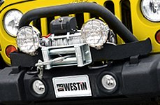 Westin® - Winch Mounting System on Jeep Wrangler