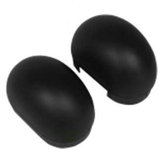 "Westin® - Oval 4"" Tube Step Black End Cap Kit"