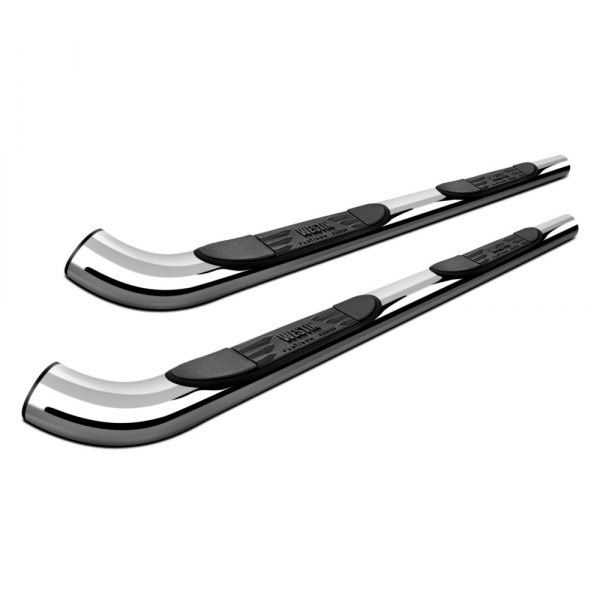 "Image may not reflect your exact vehicle! Westin® - 3"" Platinum Chrome Round Step Bars"