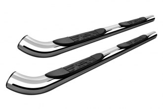 "Westin® - 3"" Platinum Chrome Round Step Bars"