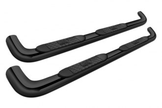 "Westin® 21-3545 - 4"" Platinum Cab Length Black Powdercoat Oval Tube Step Bars"