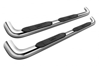 "Westin® 21-3240 - 4"" Platinum Cab Length Stainless Steel Oval Tube Step Bars"