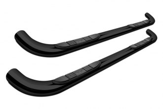 "Westin® 23-0535 - 3"" E-Series Black Powdercoat Round Step Bars"
