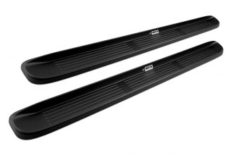 "Westin® 27-0010 - 79"" Black Molded Polymer Unlighted Running Boards"