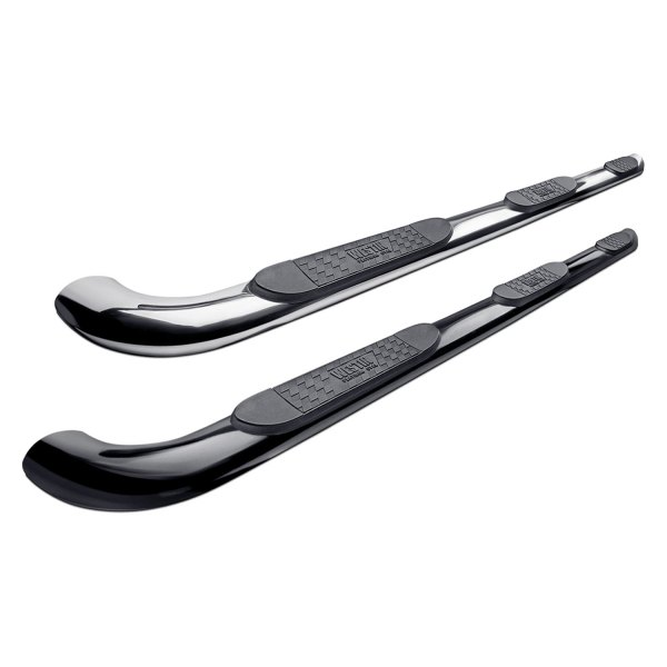 "Image may not reflect your exact vehicle! Westin® - 4"" Platinum Oval Tube Step Bars"