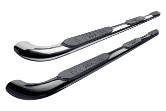 "Image may not reflect your exact vehicle! Westin® - 4"" Platinum Wheel-to-Wheel Oval Tube Step Bars"