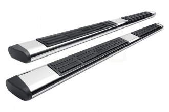 "Image may not reflect your exact vehicle! Westin® - 6"" Premier Polished Oval Step Bars"