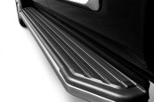 Westin® - Stylized Stainless Steel Running Boards, Installed