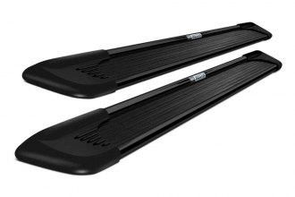 "Westin® 27-6135 - 79"" Sure-Grip Black Running Boards with Black Trim"