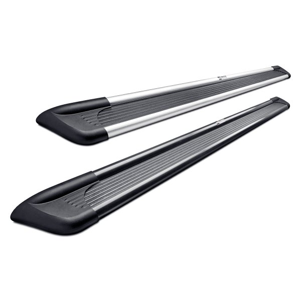 Image may not reflect your exact vehicle! Westin® - Sure-Grip with Brushed Trim Running Boards