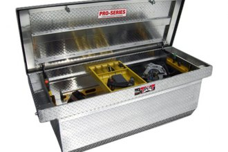 Westin® - Brute™ Aluminum Deep Single Lid Crossover Tool Box with Slant